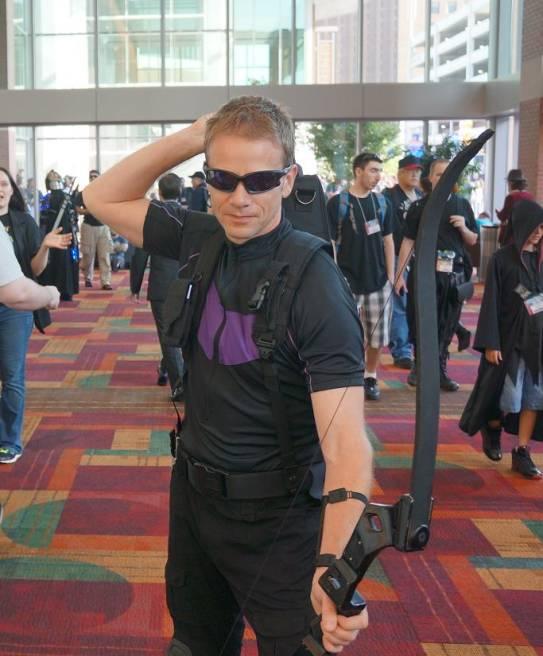 Hawkeye Cosplay gencon 2013