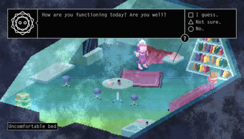Alone With You: preview of a sci-fi psychological romance adventure!
