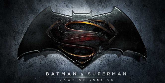 Batman v Superman movie logo 1