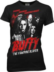 Buffy movie poster shirt
