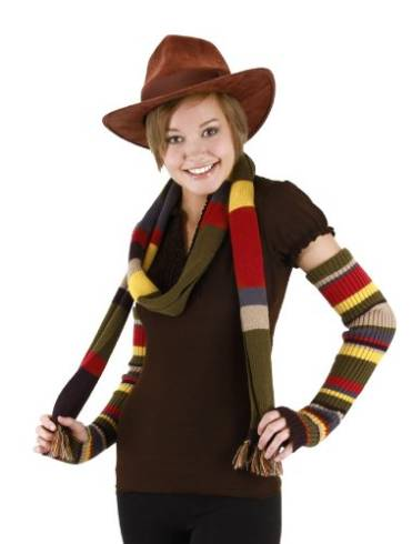 Doctor Who arm warmers