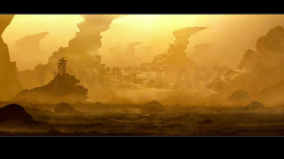 Draenor concept art Warcraft movie