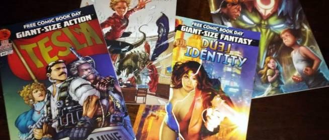 FCBD Haul 2014: Red Giant Comics