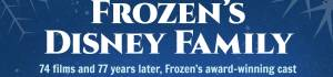Frozen's Disney Family Infographic