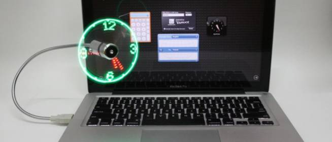 Gadget Review: USB LED Fan Clock