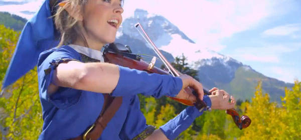 On YouTube: Lindsey Stirling