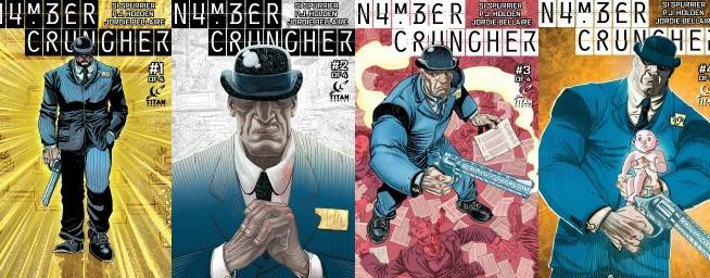 Numbercruncher Graphic Novel