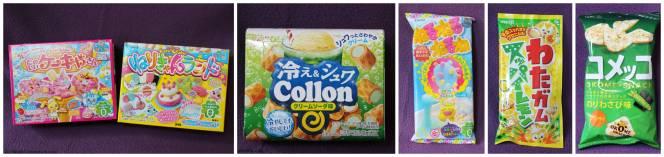Okashi Japanese snacks 1