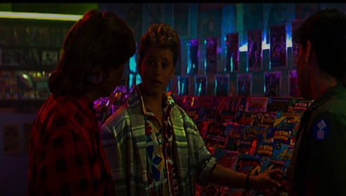 The Lost Boys Comic Shop Scene