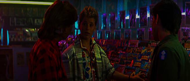 The Lost Boys Comic Shop Scene