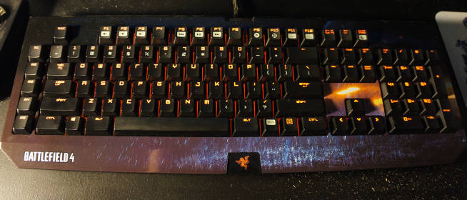 Razer Blackwidow Mechanical Keyboard Review