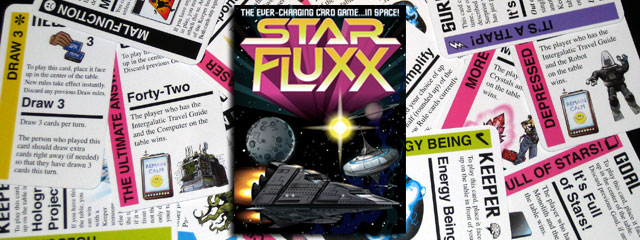 Gaming Night: Star Fluxx