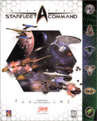 Starfleet Command box art