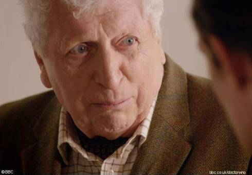 Tom Baker Doctor Who The Curator Day of the Doctor