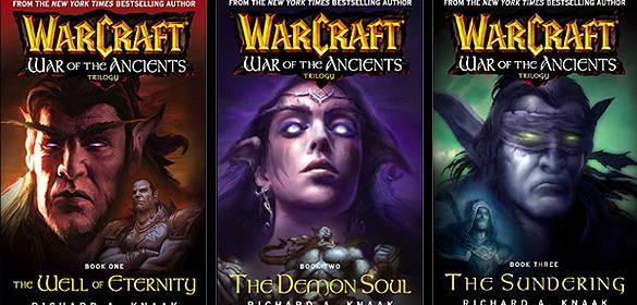 Reading: WarCraft – War of the Ancients (trilogy)