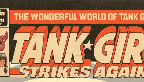 Titan To Celebrate 30 Years of Tank Girl!