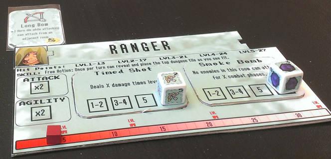 bit Crawl Ranger Hero Card