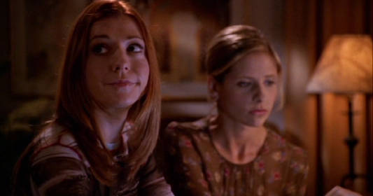 Celeb Twitter Convos: Buffy Edition