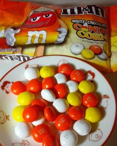 candy corn mms