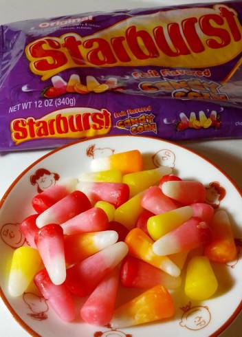 candy corn starburst