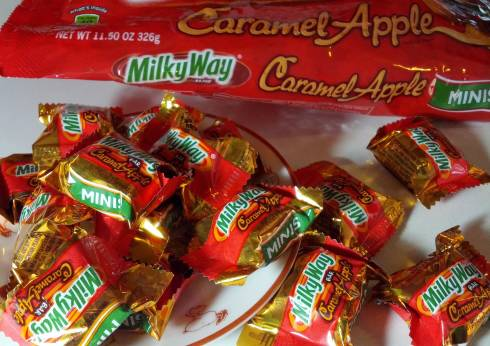 caramel apple milky way