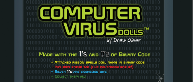 Computer Virus Doll Giveaway (closed)