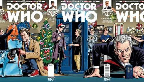 Doctor Who Christmas Comic Covers Preview