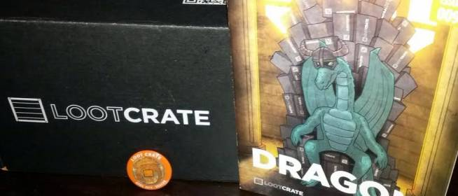 April 2014 Loot Crate: Dragon (Review)