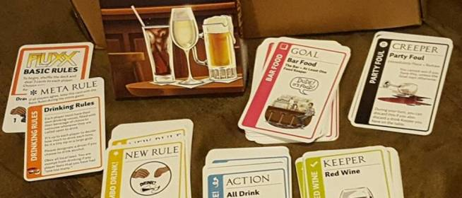 Game Night: Drinking Fluxx