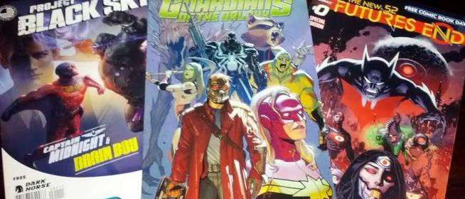 FCBD Haul 2014: Superhero Comics