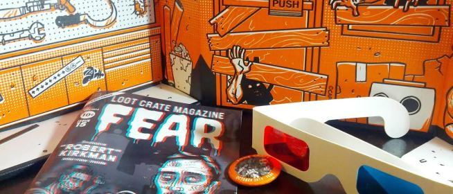 October 2014 Loot Crate: Fear