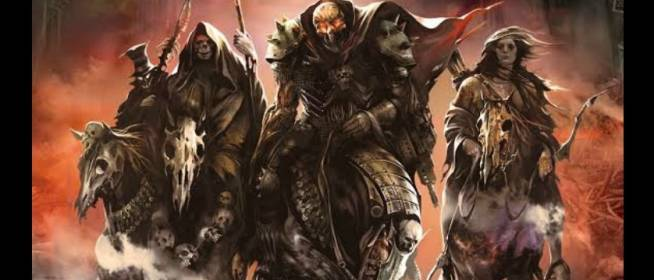 The Four Horsemen of the Apocalypse graphic novel
