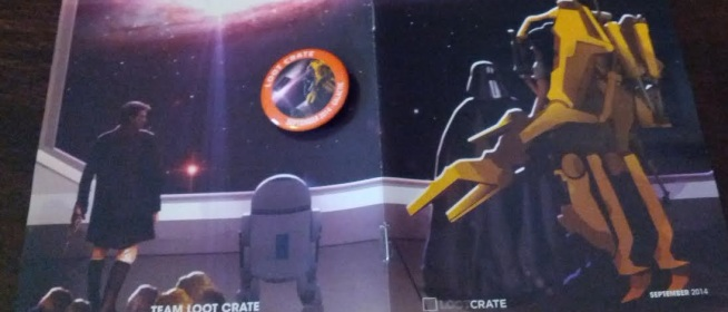 September 2014 Loot Crate: Galactic