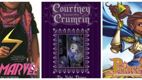 Top 5 Comics for Teen Girls