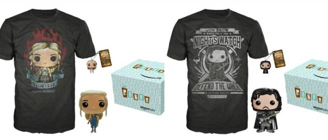 Amazon Exclusive Game of Thrones Funko Pop! Bundles
