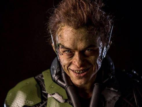 green-goblin close up
