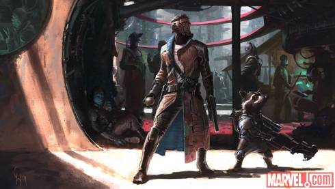 guardians of the galaxy early concept