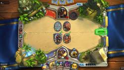 Hearthstone game board