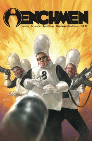 henchmen comic cover