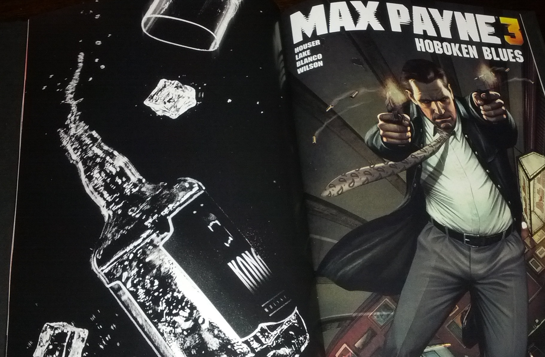 Max Payne 3 Graphic Novel Review Awkward Geeks