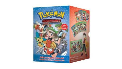 New Pokemon Manga Box Sets