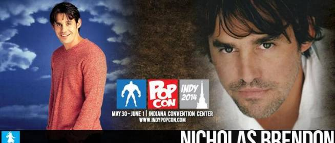 Nicholas Brendon Confirmed for Indy PopCon!