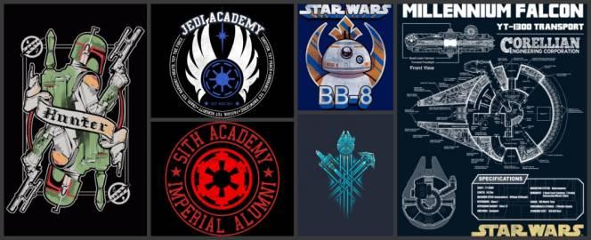 star wars shirts group