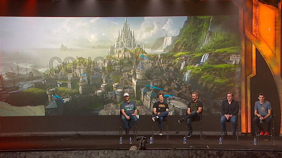 Stormwind concept art Warcraft movie