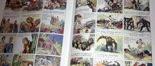 Tarzan – In the City of Gold (comic strip collection)