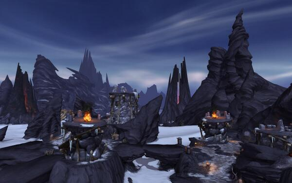 world of warcraft warlords of draenor frostfire ridge