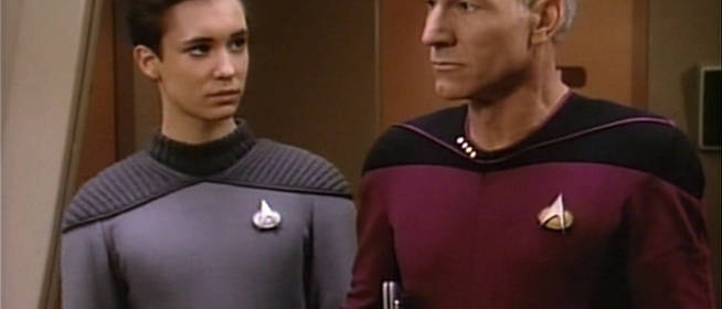 Celeb Twitter Convos: Star Trek TNG Edition