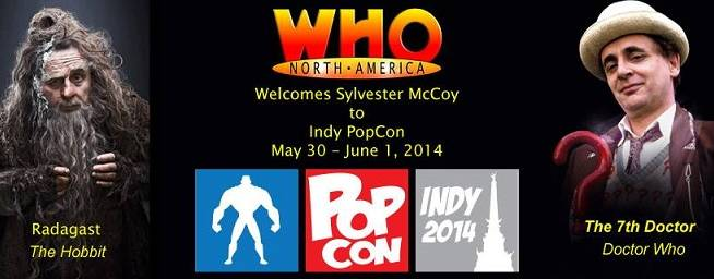 Who North America Welcomes Sylvester McCoy to Indy PopCon!
