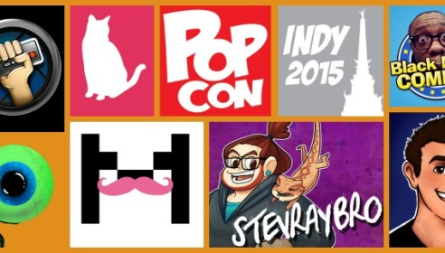 Indy Pop Con 2015: YouTube Celebrities